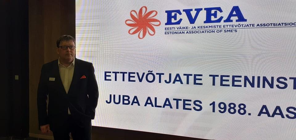 Pressiteade. EVEA otsib uut ettevõtlusministrit