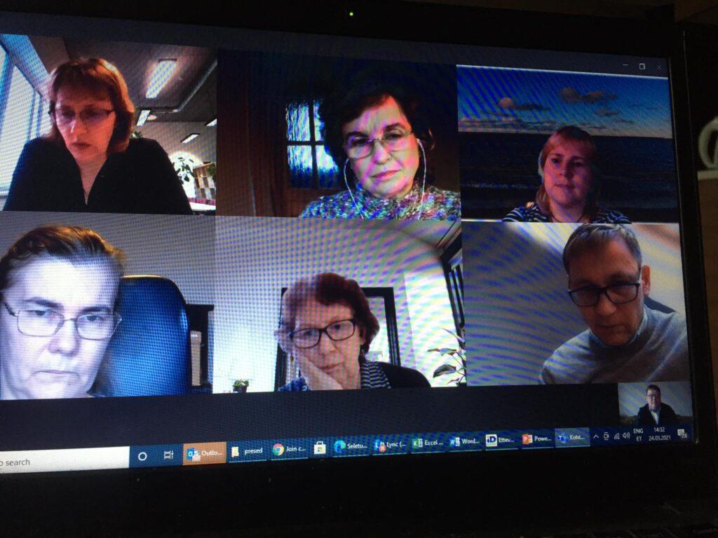 EVEA-Ametiühingute keskliidu kohtumine